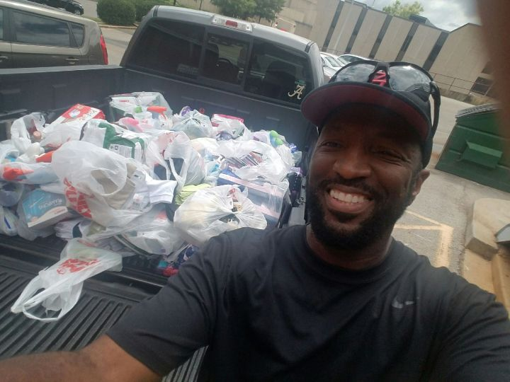 Rickey Smiley At The Salvation Army