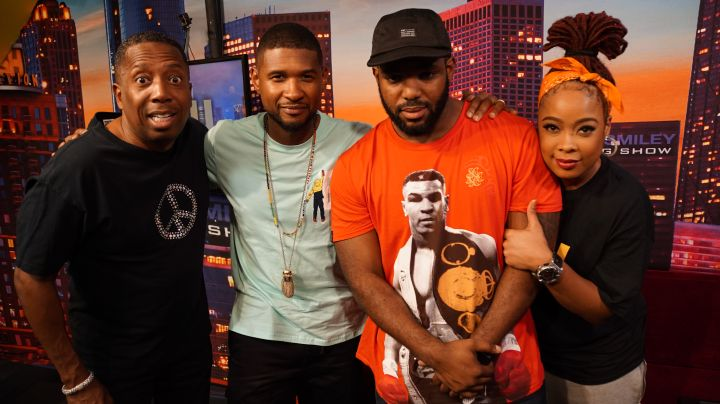 Usher & The Rickey Smiley Morning Show