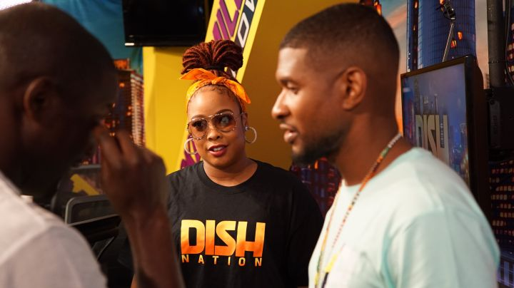 Usher Visits The Rickey Smiley Morning Show!