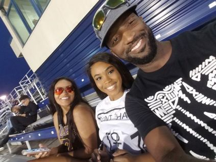 Rickey Smiley & His Daughter