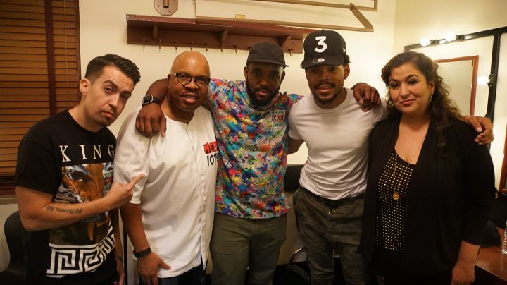 Headkrack & Chance The Rapper After A Great Interview