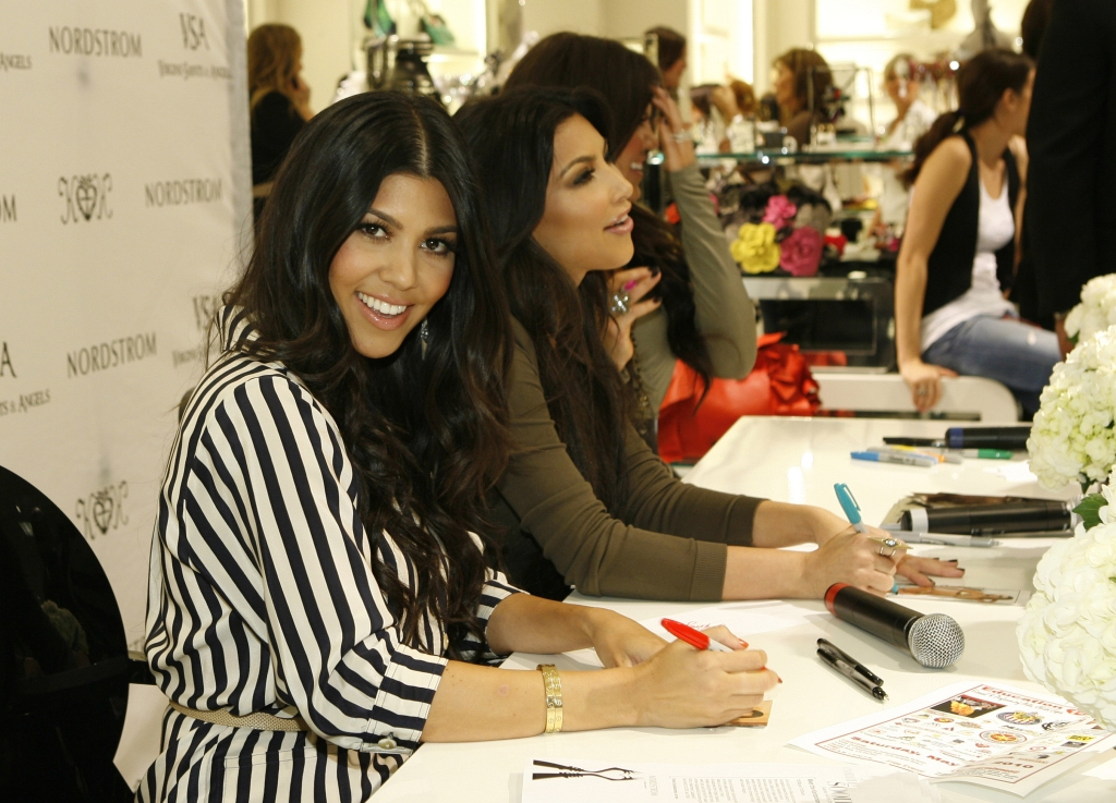 Kardashian Sisters Make Personal Appearance At Nordstrom Fashion Island