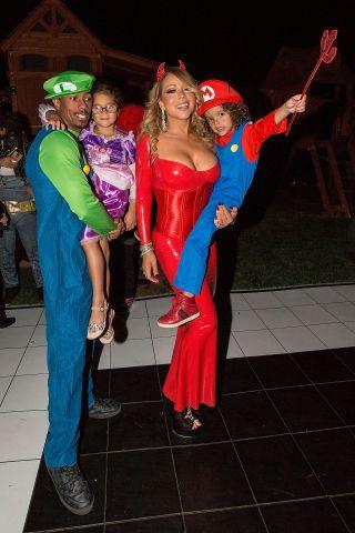 Mariah Carey Halloween Party