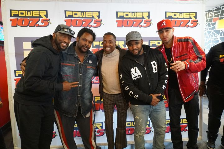 Rickey Smiley Morning Show in Columbus Ohio
