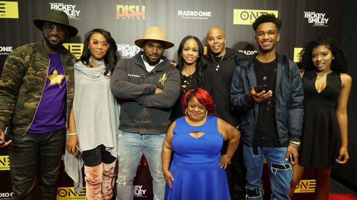 "The ""Rickey Smiley For Real"" Cast"