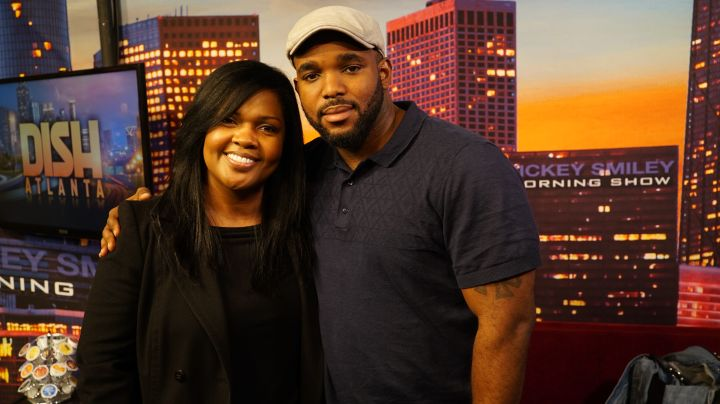 Ce Ce Winans Guests On The Rickey Smiley Morning Show
