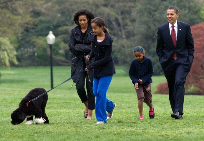 US-POLITICS-OBAMA-DOG