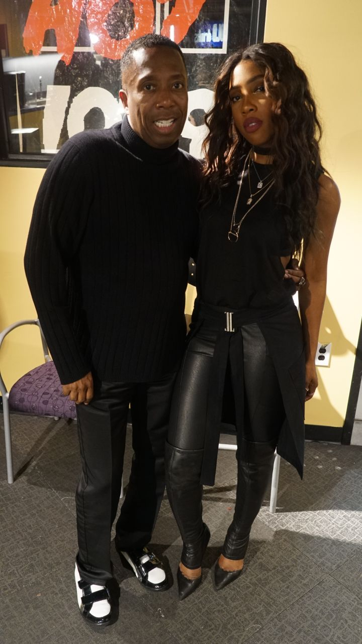 Full Body Picture Of Gary With Da Tea, & Grammy Award Winning Song Writer Sevyn Streeter.