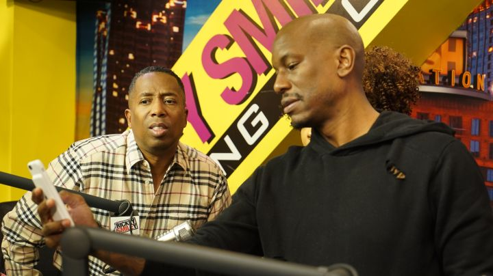 Tyrese & Gary On The Rickey Smiley Morning Show