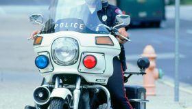 1992 Harley Davidson Police Bike