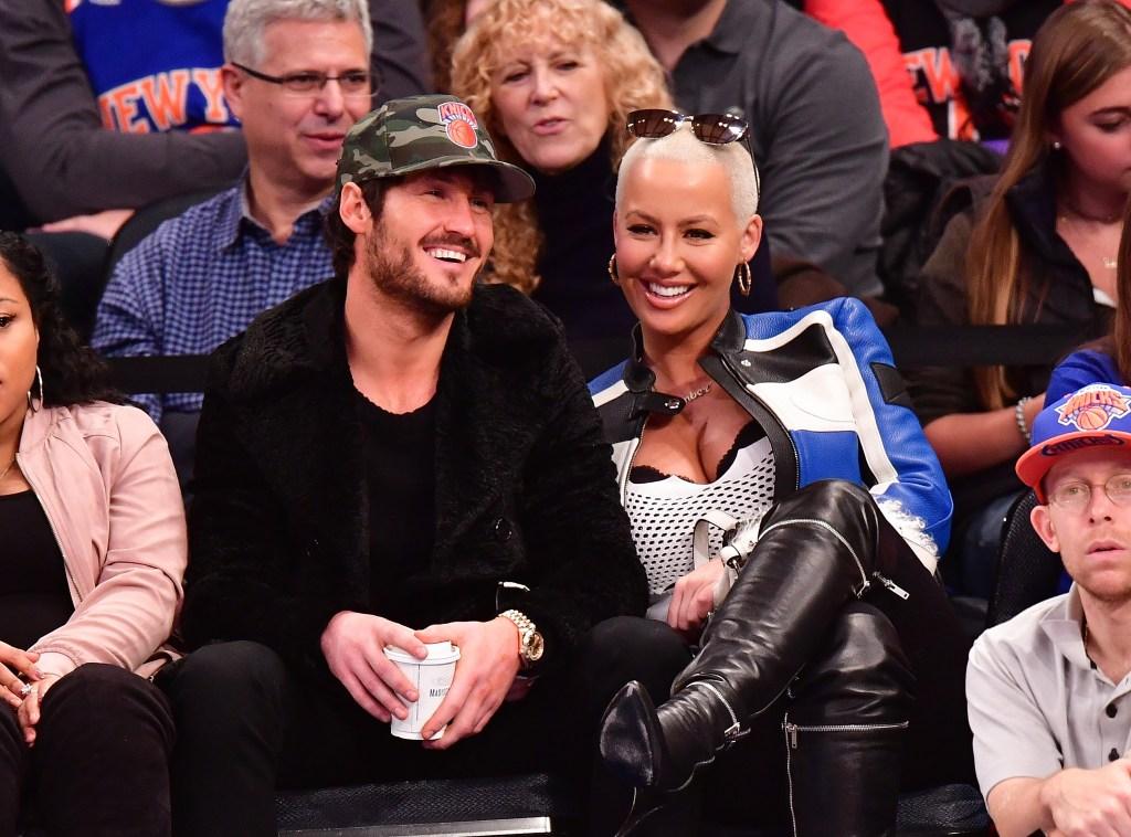 Celebrities Attend Atlanta Hawks Vs. New York Knicks - January 16, 2017