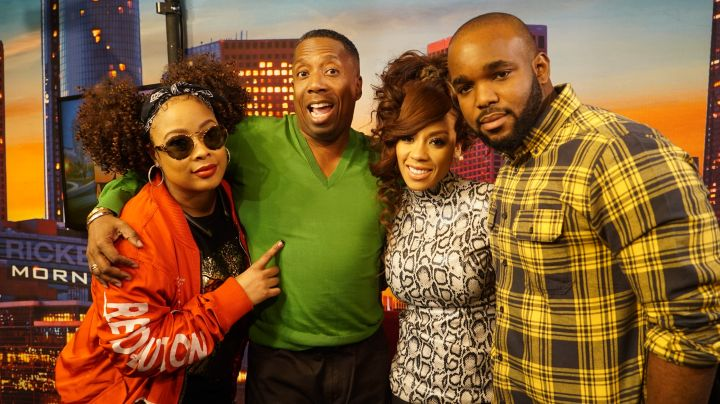 Keyshia Cole On The Rickey Smiley Morning Show