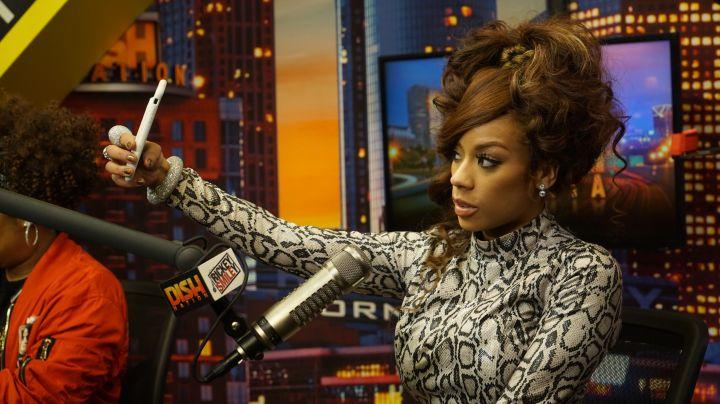 Keyshia Cole On The Rickey Smiley Morning Show