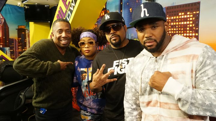 Ice Cube Stops By The Rickey Smiley Morning Show