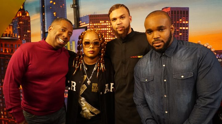 Jidenna And The Rickey Smiley Morning Show
