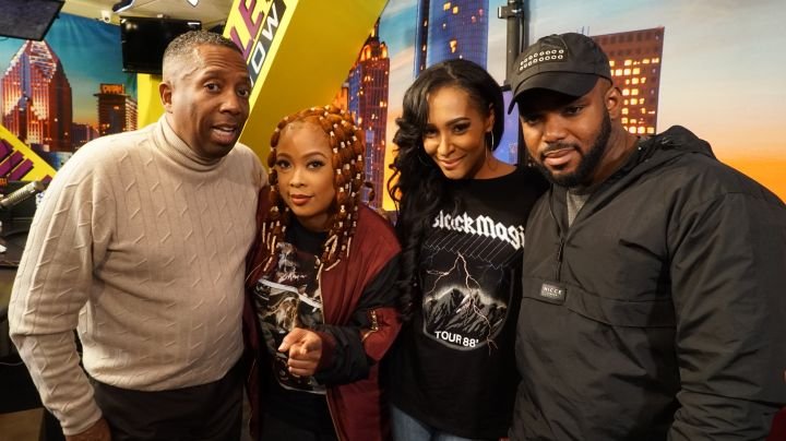 Amina Buddafly On The Rickey Smiley Morning Show