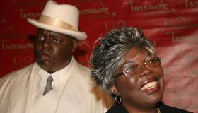 Notorious B.I.G. Wax Figure Unveiled by his Mother, Voletta Wallace, at Madame Tussauds in New York