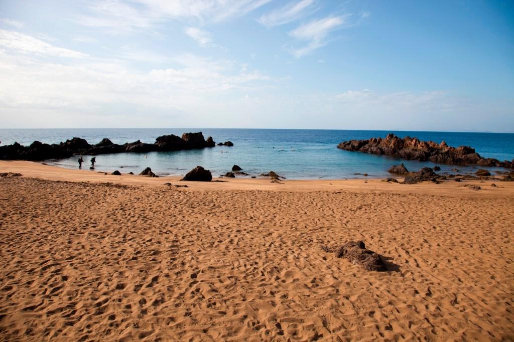 Playa Chica. Puerto Del Carmen. Lanzarote. Canary. Spain