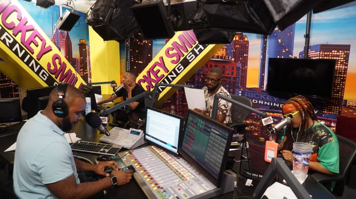 The Rickey Smiley Morning Show Studio