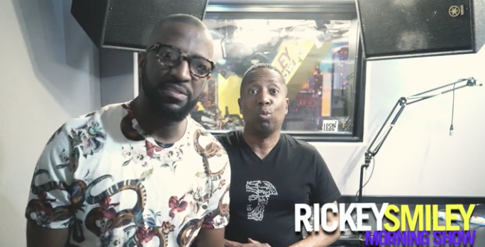 Rickey Smiley & Gary With Da Tea