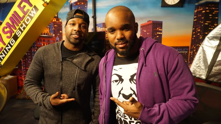 Visits The Rickey Smiley Morning Show