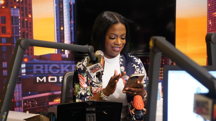 Kandi Burruss Special Guest Host On The Rickey Smiley Morning Show