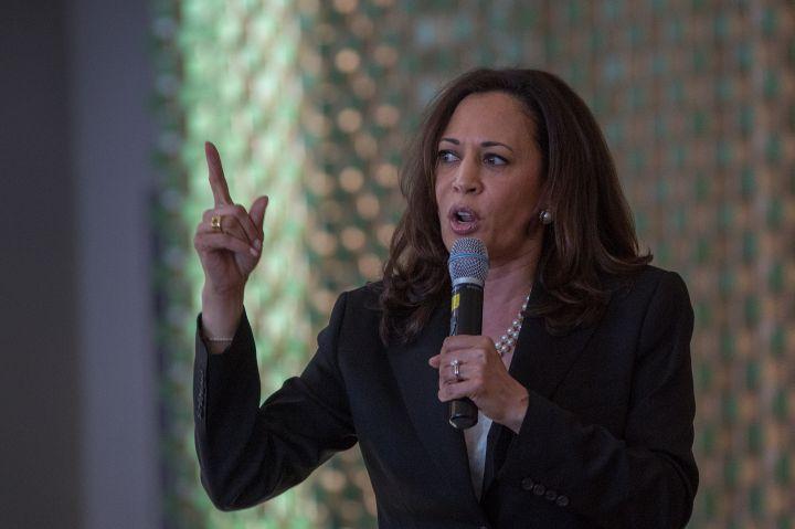 Sen. Kamala Harris (D-CA) Holds Town Hall Meeting In Los Angeles