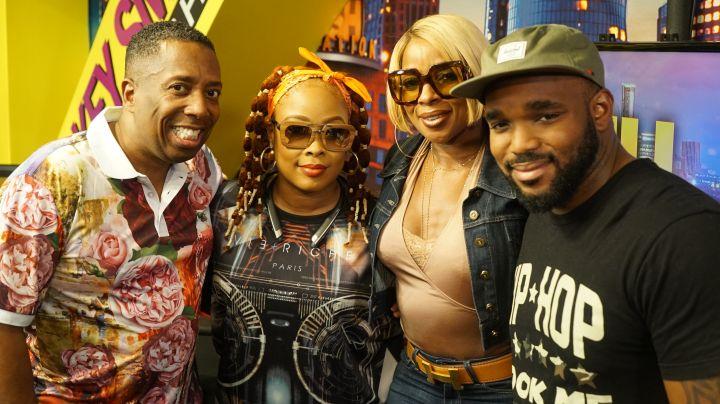 Gary With Da Tea, Da Brat, Mary J. Blige & Headkrack