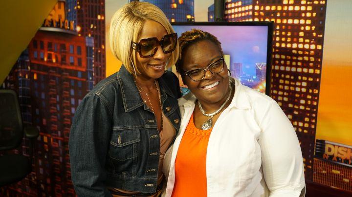 Mary J. Blige & Fan