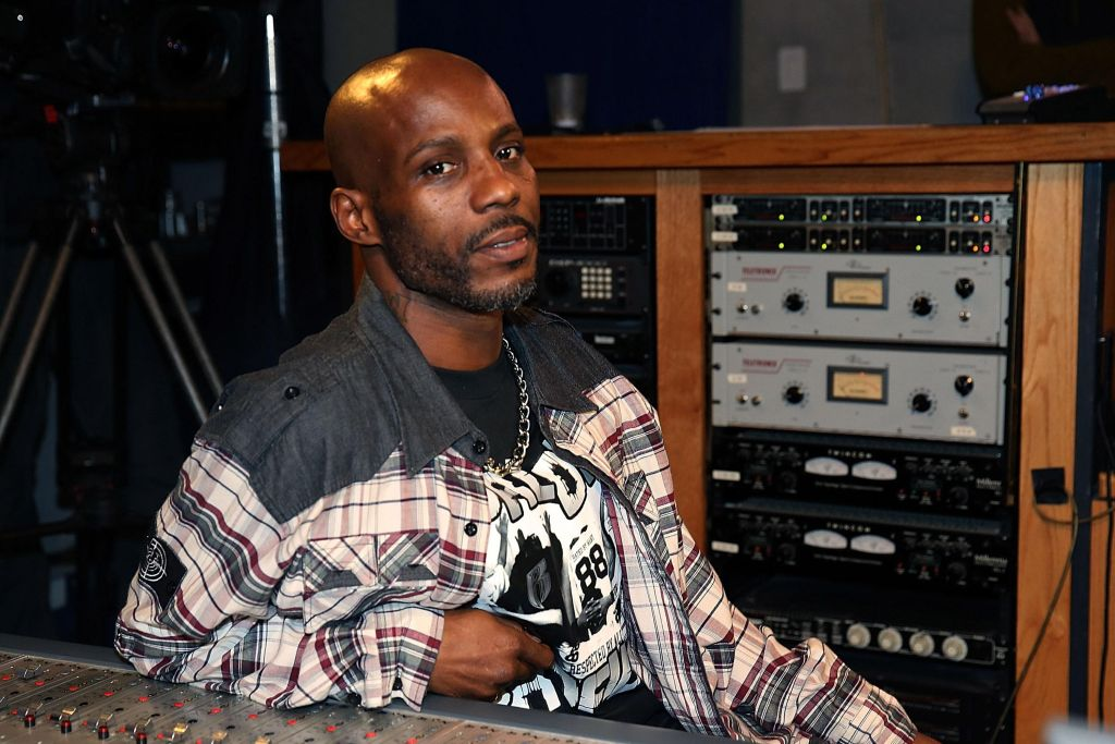 DMX Recording At Ruff Ryders Recording Studios