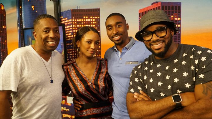 Gary With Da Tea, Kat Graham, Demetrius Shipp Jr, Headkrack