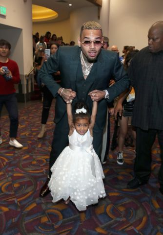 Premiere Of Riveting Entertainment's 'Chris Brown: Welcome To My Life' At L.A. LIVE
