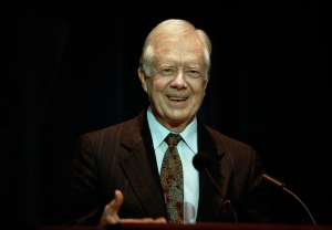 Former President Carter's Surprise 70th. Birthday Party