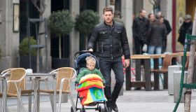 Madrid Celebrity Sightings - February 12, 2015