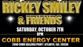 Rickey Smiley in Atlanta