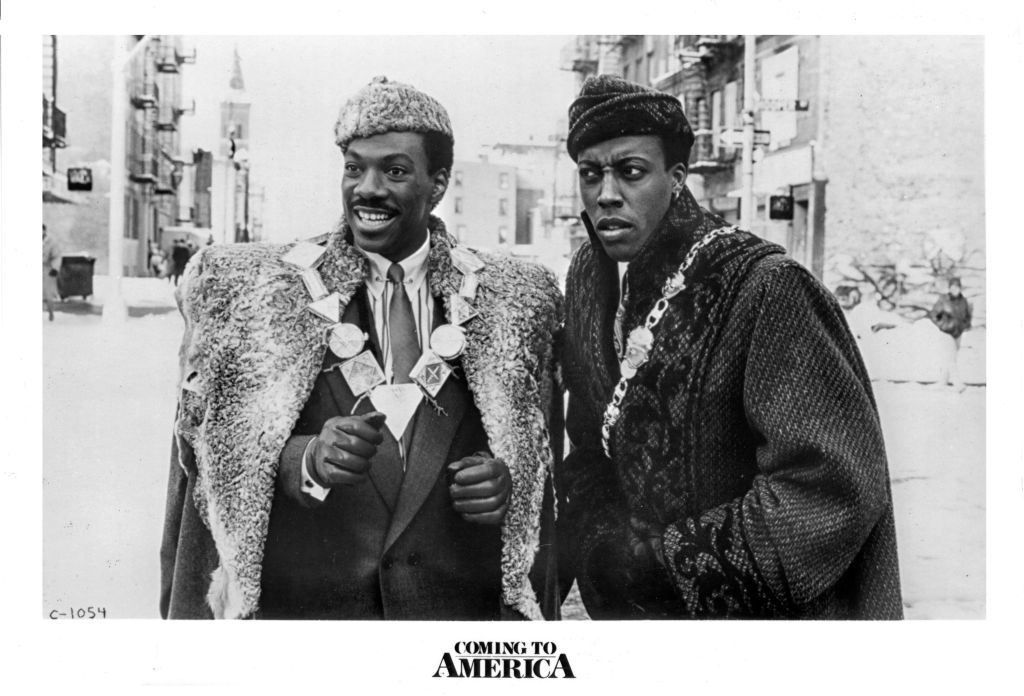 Publicity Still From 'Coming To America'
