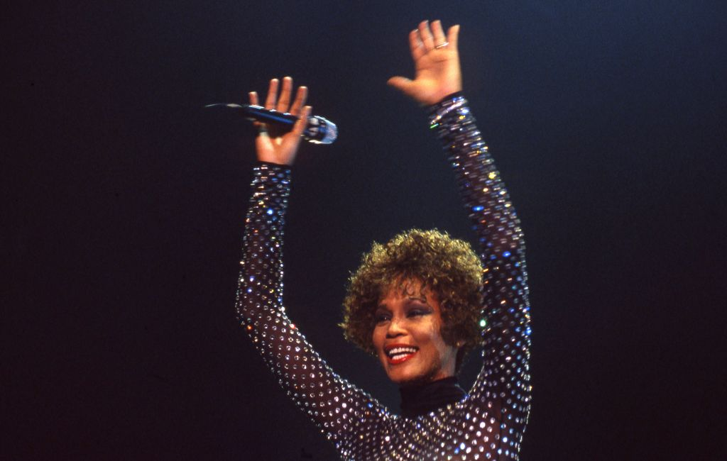 American singer Whitney Houston