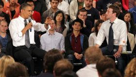 Obama Holds Facebook Town Hall On The Economy