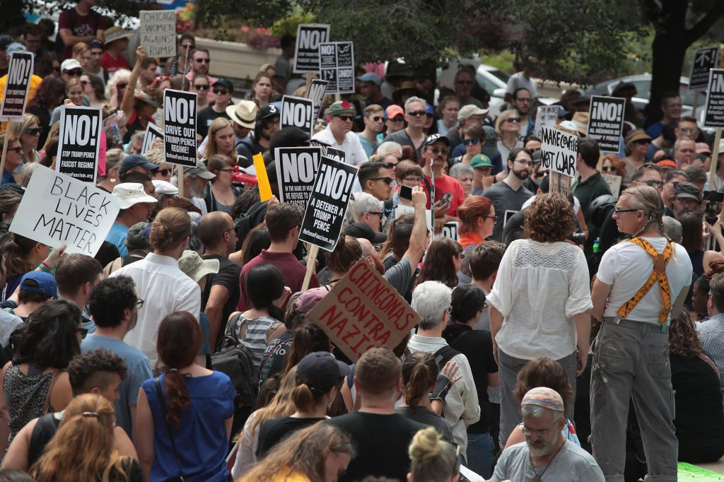 Vigils Held Across For Country For Victims Of Violence At White Nationalist Rally In Charlottesville, Virginia