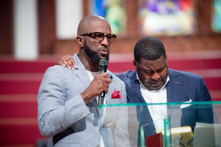 Rickey Smiley & Pastor E. Dewey Smith