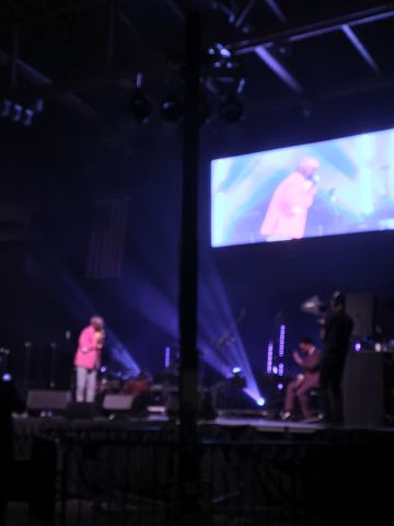 Rickey Smiley Visits New Life Covenant Church In Chicago