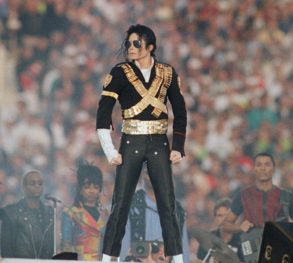 Michael Jackson Performs at Superbowl XXVII