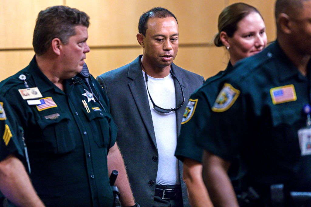 Tiger Woods Appears In Florida Court For DUI Hearing