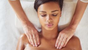 Massaging her way to wellness