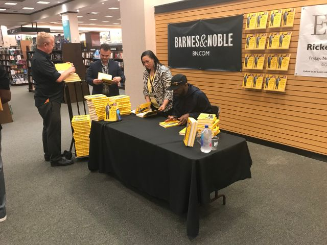 """Rickey Smiley """"Stand By Your Truth: And Then Run For Your Life"""" Book Signing In Lafayette, Louisiana At Barnes & Noble"""