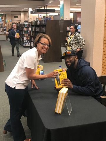 "Rickey Smiley ""Stand By Your Truth: And Then Run For Your Life"" Book Signing In Lafayette, Louisiana At Barnes & Noble"