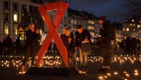 World AIDS Day 2016 - Candlelight vigil in Copenhagen
