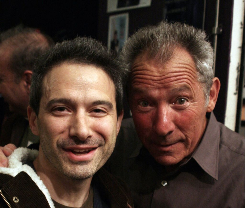 Adam Horovitz of the Beastie Boys and Israel Horovitz