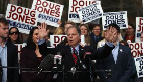 Democratic Senate Candidate Doug Jones Votes In Alabama Special Election