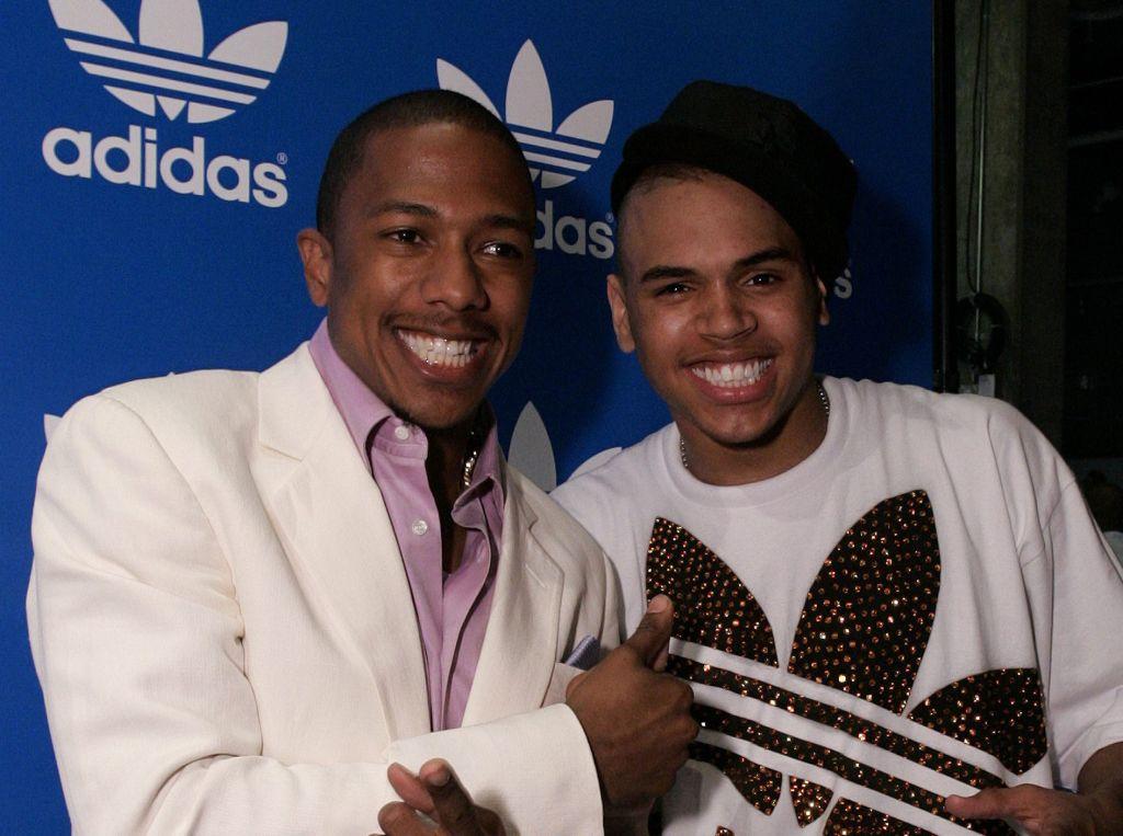 Chris Brown, Jive Records and Adidas Host Pre-BET Awards VIP Party at Adidas Originals